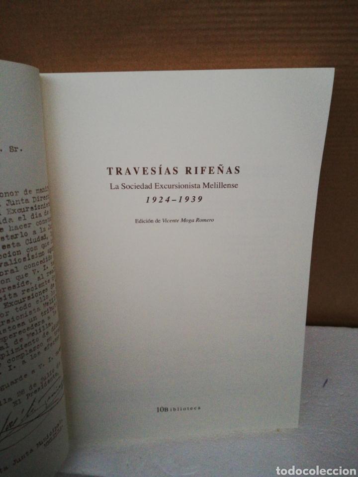 Libros de segunda mano: Travesías rifeñas .La sociedad excursionista melillense 1924 1939 - Foto 4 - 194878603