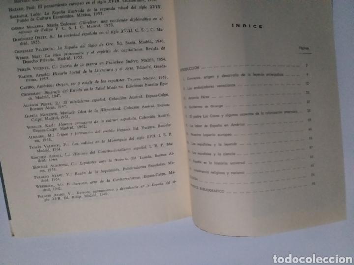 Libros de segunda mano: La leyenda antiespañola . Sebastián Quesada marco 1967 . . Historia arte siglo XVI - Foto 9 - 194878886