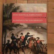Libros de segunda mano: JUAN MARTIN EL EMPECINADO, LA BATALLA DE LOS ARAPILES - BENITO PEREZ GALDOS (ESPASA). Lote 194880385
