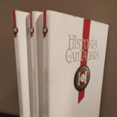 Libros de segunda mano: HISTORIA DE CANTABRIA - TRES TOMOS COMPLETA. Lote 229309645