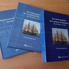 Libros de segunda mano: LIBRO LOS NAVIOS ESPAÑOLES DE LA BATALLA DE TRAFALGAR - MILITAR BARCOS. Lote 195137881