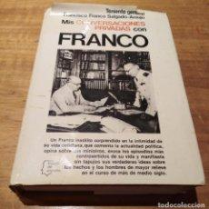 Libros de segunda mano: MIS CONVERSACIONES PRIVADAS CON FRANCO ED PLANETA 1976. Lote 195196888