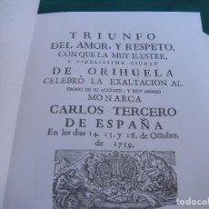 Libros de segunda mano: ORIHUELA.. Lote 195337308