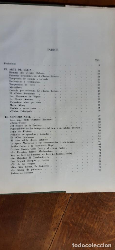 Libros de segunda mano: Ca Nostra 50 años de la vida palmesana. Luis fábregas y Cuxart. Tomo II. Palma de Mallorca 1966 - Foto 5 - 195353322