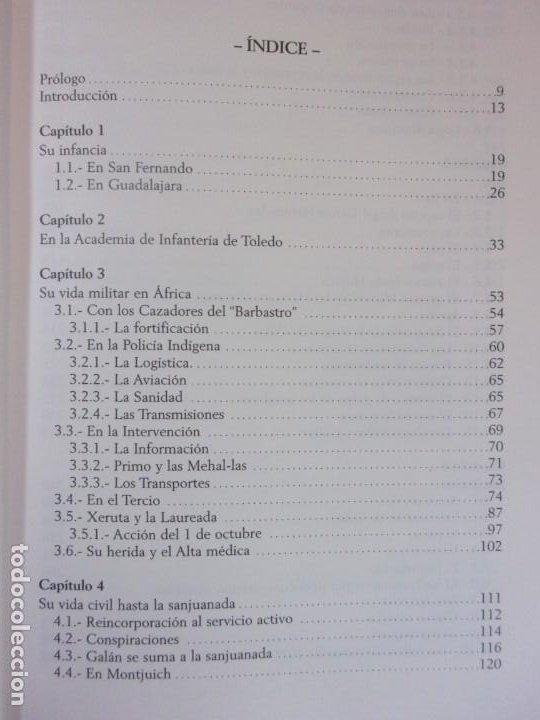 Libros de segunda mano: FERMÍN GALÁN RODRÍGUEZ. EL CAPITÁN QUE SUBLEBO JACA / FERNANDO MARTÍNEZ DE BAÑOS CARRILLO - Foto 3 - 195366515
