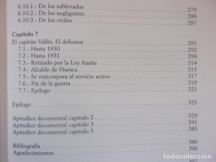 Libros de segunda mano: FERMÍN GALÁN RODRÍGUEZ. EL CAPITÁN QUE SUBLEBO JACA / FERNANDO MARTÍNEZ DE BAÑOS CARRILLO - Foto 5 - 195366515