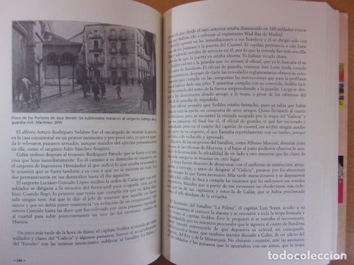 Libros de segunda mano: FERMÍN GALÁN RODRÍGUEZ. EL CAPITÁN QUE SUBLEBO JACA / FERNANDO MARTÍNEZ DE BAÑOS CARRILLO - Foto 6 - 195366515