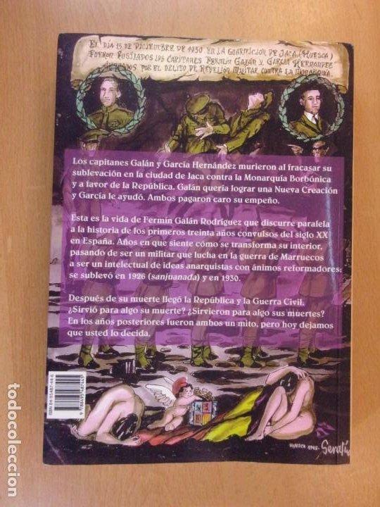 Libros de segunda mano: FERMÍN GALÁN RODRÍGUEZ. EL CAPITÁN QUE SUBLEBO JACA / FERNANDO MARTÍNEZ DE BAÑOS CARRILLO - Foto 7 - 195366515