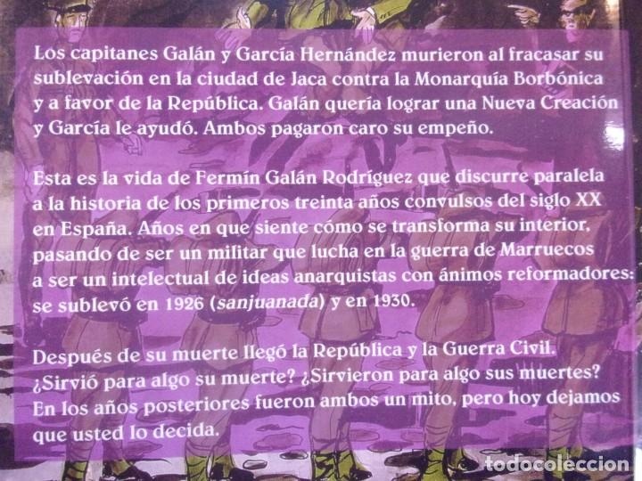 Libros de segunda mano: FERMÍN GALÁN RODRÍGUEZ. EL CAPITÁN QUE SUBLEBO JACA / FERNANDO MARTÍNEZ DE BAÑOS CARRILLO - Foto 8 - 195366515