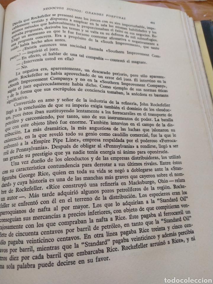 Libros de segunda mano: Negocios sucios grandes fortunas !como hacerse Rico!. - Foto 3 - 195369130