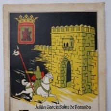 Libros de segunda mano: LA HIDALGUIA EN LAS MERINDADES DE CASTILLA - VIEJA. JULIÁN GARCÍA SAINZ DE BARANDA. 1969. Lote 195421037