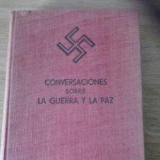 Libros de segunda mano: CONVERSACIONES SOBRE LA GUERRA Y LA PAZ. Lote 195517187