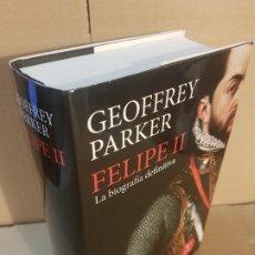 Libros de segunda mano: FELIPE II ( GEOFFREY PARKER ). Lote 195517285