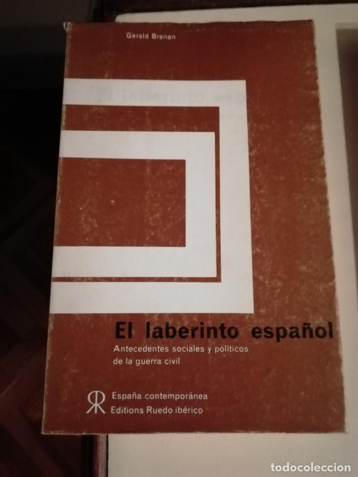 EL LABERINTO ESPAÑOL POR GERALD BRENAN (Libros de Segunda Mano - Historia Moderna)