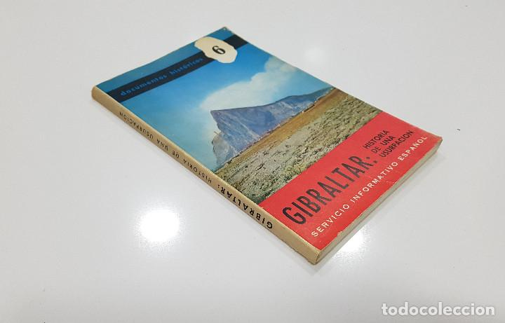 Libros de segunda mano: GIBRALTAR. HISTORIA DE UNA USURPACION. Documentos Históricos 6, Servicio Informativo Español 1968 - Foto 5 - 196079115