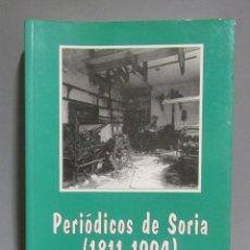 Libros de segunda mano: SORIA - JESUS M. LATORRE PERIODICOS DE SORIA (1811-1944) SORIA EDITA 1996. Lote 196549057