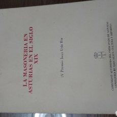 Livros em segunda mão: LA MASONERIA EN ASTURIAS EN EL SIGLO XIX. VICTORIA HIDALGO NIETO. Lote 197257728