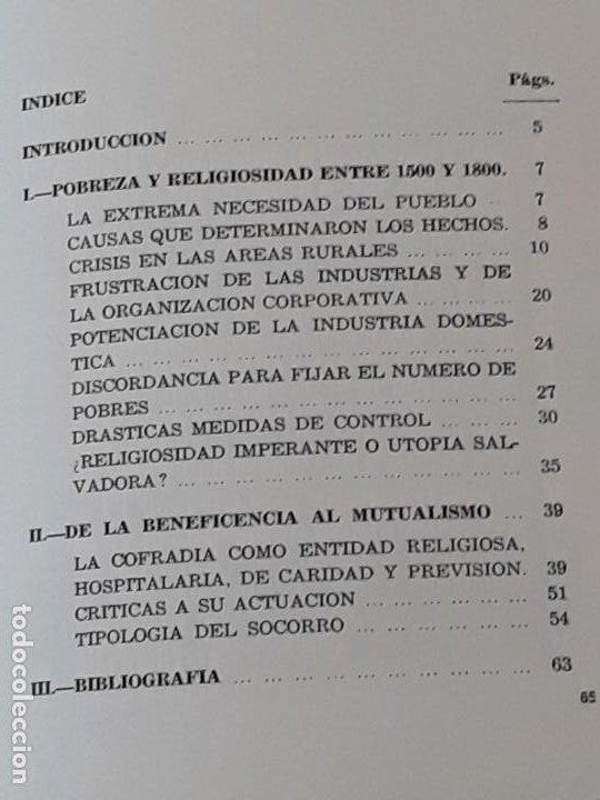 Libros de segunda mano: TEMAS TOLEDANOS - POBREZA Y BENEFICENCIA EN LA PROVINCIA ( 1500 - 1800 ) TOLEDO. - Foto 2 - 197525851