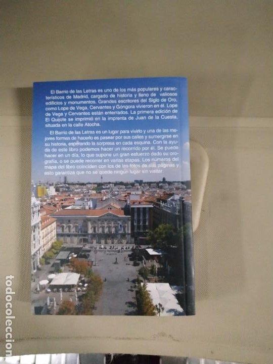 Libros de segunda mano: El Barrio de las Letras. Historia, Comercio, Ocio - Alcocer. Turpin - Foto 2 - 198081112