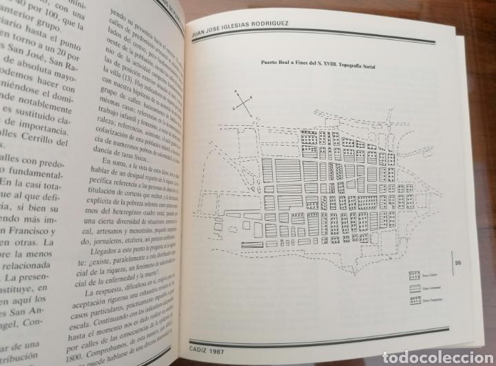 Libros de segunda mano: PUERTO REAL. LA EPIDEMIA GADITANA DE FIEBRE AMARILLA DE 1800. JUAN JOSÉ IGLESIAS RODRIGUEZ. CÁDIZ. - Foto 4 - 199488482