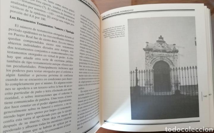 Libros de segunda mano: PUERTO REAL. LA EPIDEMIA GADITANA DE FIEBRE AMARILLA DE 1800. JUAN JOSÉ IGLESIAS RODRIGUEZ. CÁDIZ. - Foto 7 - 199488482
