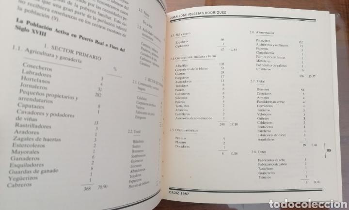 Libros de segunda mano: PUERTO REAL. LA EPIDEMIA GADITANA DE FIEBRE AMARILLA DE 1800. JUAN JOSÉ IGLESIAS RODRIGUEZ. CÁDIZ. - Foto 8 - 199488482
