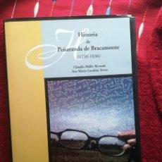 Libros de segunda mano: HISTORIA DE PEÑARANDA DE BRACAMONTE SALAMANCA 1250-1836 CLAUDIA MOLLER Y ANA MARIA CARABIAS NUEVO. Lote 199804760