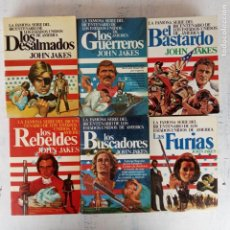 Libros de segunda mano: JOHN JAKES - LA FAMOSA SERIE DEL BICENTENARIO DE LOS ESTADOS UNIDOS DE AMERICA. Lote 201268155