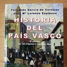 Libros de segunda mano: HISTORIA DEL PAÍS VASCO. Lote 202037918