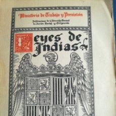 Libros de segunda mano: LEYES DE INDIAS SELECCIÓN 1929 PÁGINAS 175. Lote 202337638