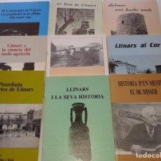 Libros de segunda mano: 9 LIBRETOS DE LA HISTORIA DE LLINARS DEL VALLES. Lote 202401411