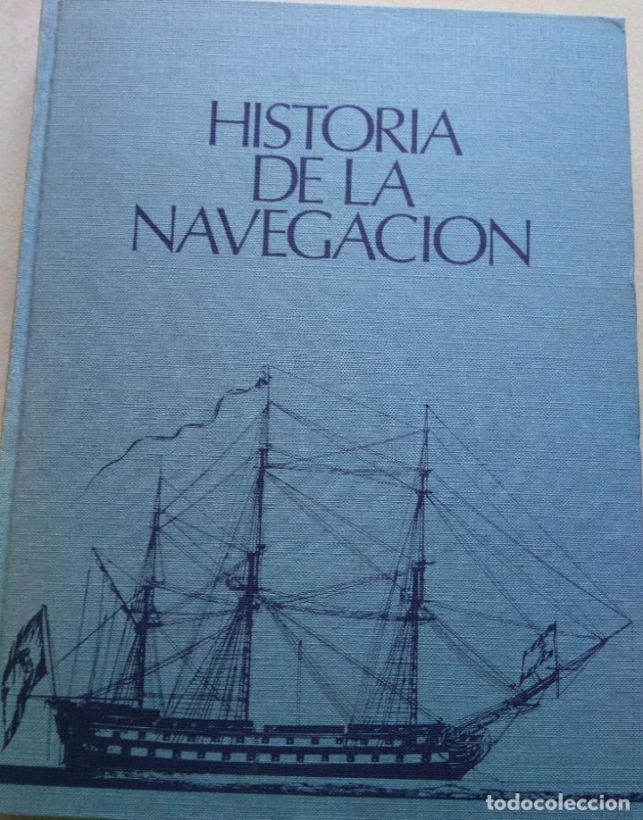 HISTORIA DE LA NAVEGACIÓN COUSTEAU (Libros de Segunda Mano - Historia Moderna)