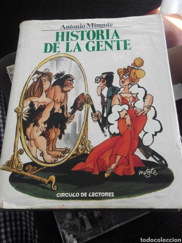 HISTORIA DE LA GENTE , ANTONIO MINGOTE (Libros de Segunda Mano - Historia Moderna)