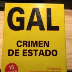Libros de segunda mano: GAL, CRIMEN DE ESTADO - ÁLVARO BAEZA L.. Lote 204058280