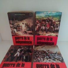 Libros de segunda mano: GUERRA DE LA INDEPENDENCIA SERVICIO HISTÓRICO MILITAR 1 2 3 Y 4. Lote 204810808