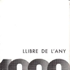 Libros de segunda mano: LLIBRE DE L'ANY 1963.. Lote 205128133