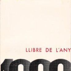 Libros de segunda mano: LLIBRE DE L'ANY 1962.. Lote 205128400