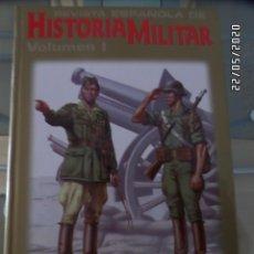 Libros de segunda mano: REVISTA ESPAÑOLA DE HISTORIA MILITAR TOMO 1. Lote 205402913