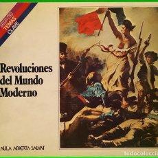 Libros de segunda mano: REVOLUCIONES DEL MUNDO MODERNO - AULA ABIERTA SALVAT: TEMAS CLAVE. Lote 205685665