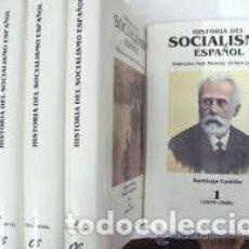 Libros de segunda mano: HISTORIA DEL SOCIALISMO ESPAÑOL. Lote 205723346