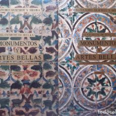 Libros de segunda mano: EL CICERONE DE SEVILLA MONUMENTOS Y ARTES BELLAS TOMO I Y II ALEJANDRO GUICHOT Y SIERRA 1991. Lote 205872108