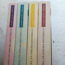 Libros de segunda mano: ESPAÑA UN ENIGMA HISTÓRICO SÁNCHEZ ALBORNOZ CLAUDIO 4 TOMOS EDHASA NUEVO. Lote 206443842