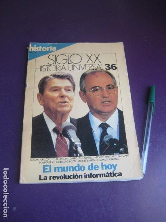 Libros de segunda mano: historia universal siglo xx - historia 16 1983 - COMPLETA - 36 TOMOS - LIGERAS SEÑALES DE USO - Foto 4 - 208303193