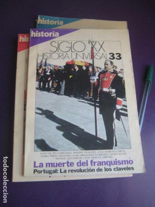 Libros de segunda mano: historia universal siglo xx - historia 16 1983 - COMPLETA - 36 TOMOS - LIGERAS SEÑALES DE USO - Foto 6 - 208303193