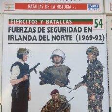 Libros de segunda mano: FUERZAS DE SEGURIDAD EN IRLANDA DEL NORTE.(1969-92)...CUERPOS DE ELITE.. Lote 208318016