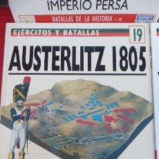 Libros de segunda mano: AUSTERLITZ 1805...LA BATALLA DE LOS TRES EMPERADORES...OSPREY. SERIE BATALLAS.. Lote 208318201