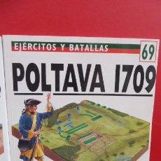 Libros de segunda mano: POLTAVA 1709......SERIE OSPREY BATALLAS.. Lote 208318322
