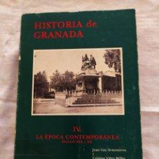 Libros de segunda mano: HISTORIA DE GRANADA. TOMO IV JUAN GAY ARMENTEROS Y CRISTINA VILES MILLER. 1982. Lote 208687990