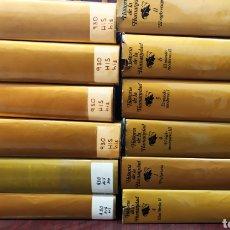 Libros de segunda mano: HISTORIA DE LA HUMANIDAD. PLANETA SUDAMERICANA 12 TOMOS COMO NUEVOS. Lote 208751797