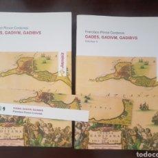 Libros de segunda mano: GADES, GADIVM, GADIBVS. FRANCISCO PONCE CORDONES. Lote 209094663